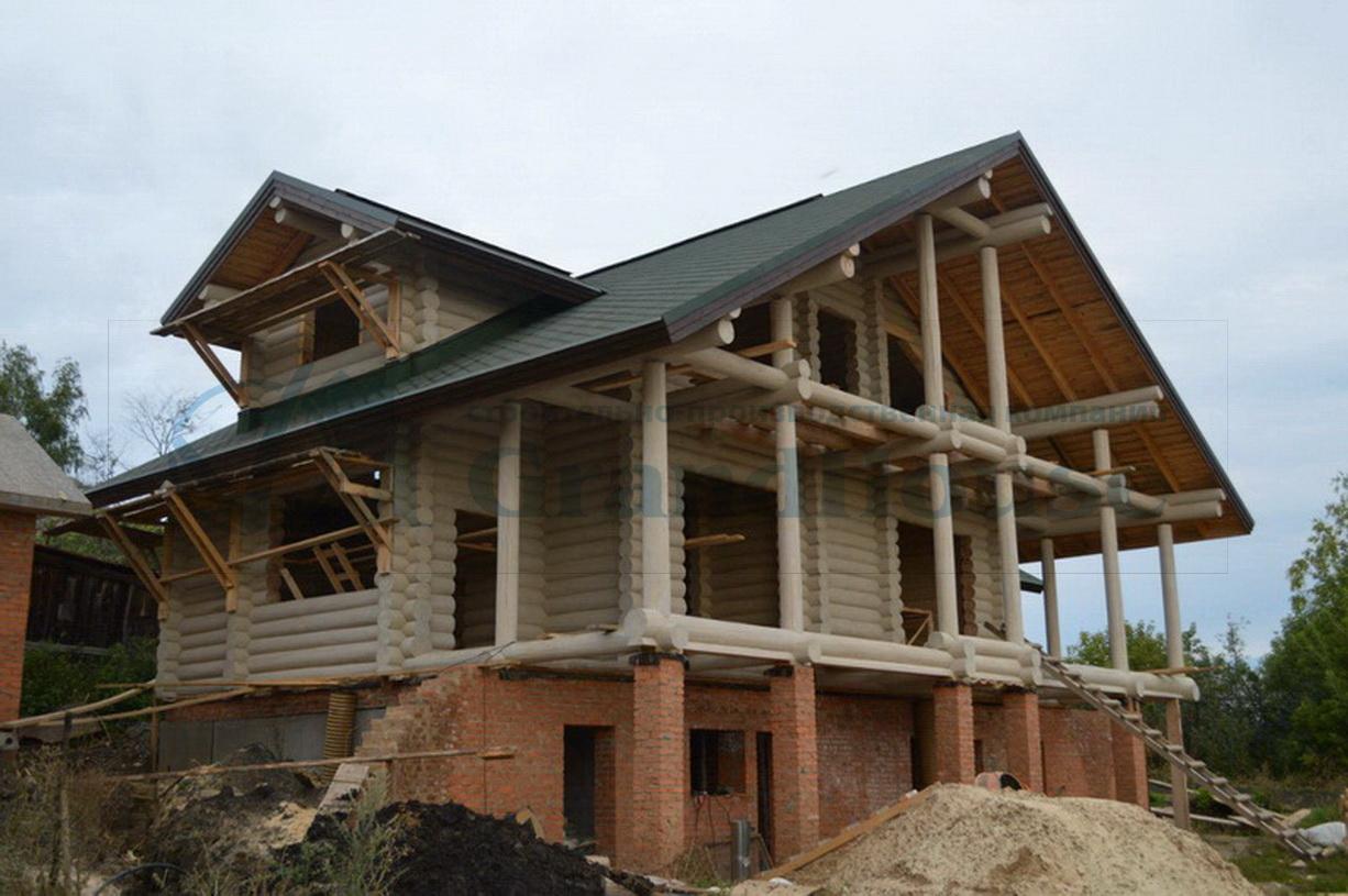 строительство каменных домов на свайном фундаменте под ключ